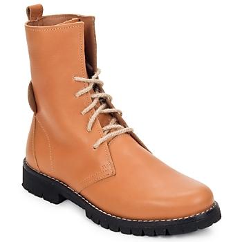 Schuhe Damen Boots Swamp BIKE Beige