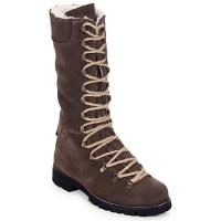 Chaussures Femme Boots Swamp STIVALE LACCI MONTONE Marron foncé