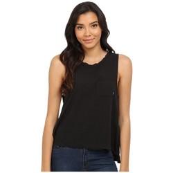 Vêtements Femme Débardeurs / T-shirts sans manche Obey HARPER Noir