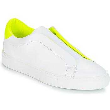 Chaussures Femme Baskets basses KLOM KISS Blanc / Jaune