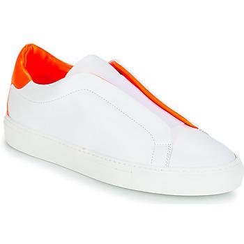 Schuhe Damen Sneaker Low KLOM KISS Weiss / Orange