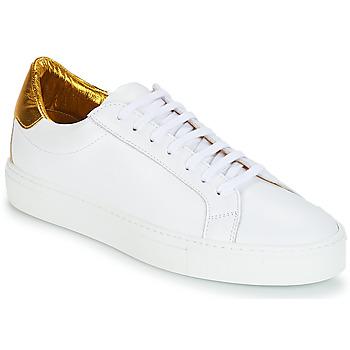 Schuhe Damen Sneaker Low KLOM KEEP Weiss / Goldfarben