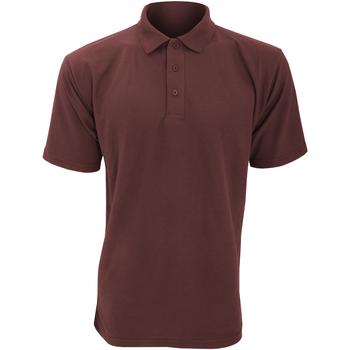 Vêtements Homme Polos manches courtes Ultimate Clothing Collection UCC003 Bordeaux