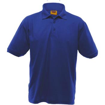 Vêtements Homme Polos manches courtes Ultimate Clothing Collection Pique Bleu royal