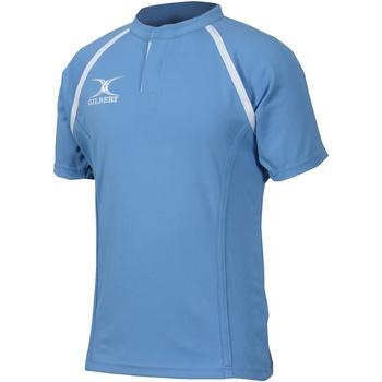 Vêtements Homme T-shirts manches courtes Gilbert Xact Bleu ciel