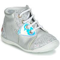 Chaussures Fille Baskets montantes GBB VERONA Argenté