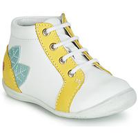 Schuhe Mädchen Sneaker High GBB FRANCKIE Weiß / Gelb