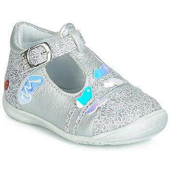 Chaussures Fille Ballerines / babies GBB MERTONE Argenté