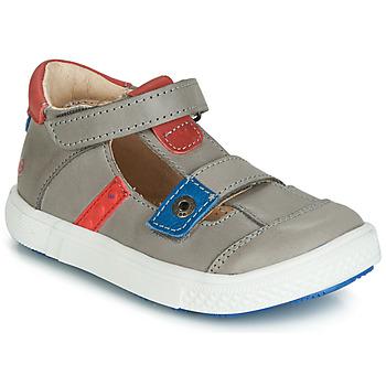 Schuhe Jungen Sandalen / Sandaletten GBB VORETO Grau / Blau / Rot