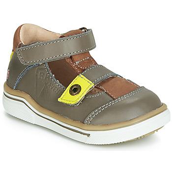 Chaussures Garçon Sandales et Nu-pieds GBB PORRO Gris / Jaune