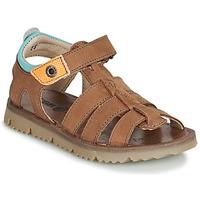 Schuhe Jungen Sandalen / Sandaletten GBB PATHE Braun,