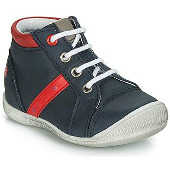 Schuhe Jungen Sneaker High GBB TARAVI Marineblau / Rot