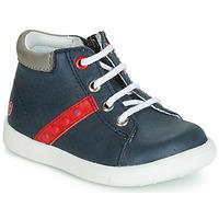 Schuhe Jungen Sneaker High GBB FOLLIO Marineblau / Rot