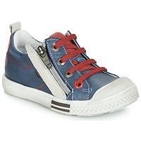 Scarpe Bambino Sneakers basse GBB STELLIO Blu / Rosso