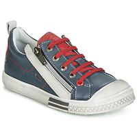 Scarpe Bambino Sneakers basse GBB STELLIO Marine / Rosso
