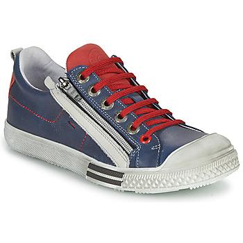Chaussures Garçon Baskets basses GBB STELLIO Marine / Rouge