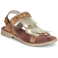 Schuhe Mädchen Sandalen / Sandaletten GBB ACARO Braun, / Golden