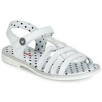 Schuhe Mädchen Sandalen / Sandaletten Catimini MUNDA Weiß