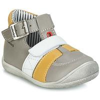 Schuhe Jungen Sandalen / Sandaletten Catimini TIMOR Grau / Senfgelb