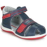 Schuhe Jungen Sandalen / Sandaletten Catimini BALIMO Marine / Rot