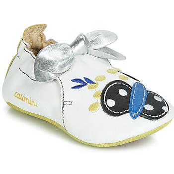 Schuhe Mädchen Hausschuhe Catimini CATIVA Weiß