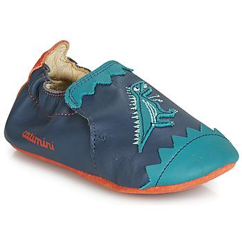 Scarpe Bambino Pantofole Catimini CADANO Marine / Arancio