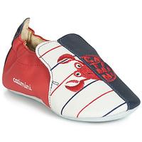Scarpe Bambino Pantofole Catimini CALURA Marine / Rosso