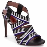 Chaussures Femme Sandales et Nu-pieds Missoni RM19 Bleu / Blanc