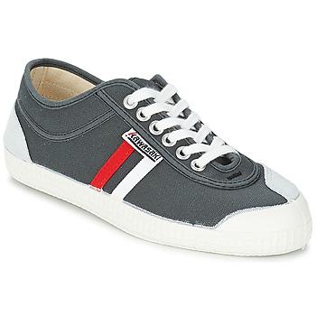 Schuhe Herren Sneaker Low Kawasaki RETRO CORE Grau / Rot / Weiss / Gestreift