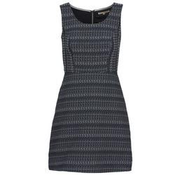 Kleidung Damen Kurze Kleider Tom Tailor BLANKA Marineblau / Weiß
