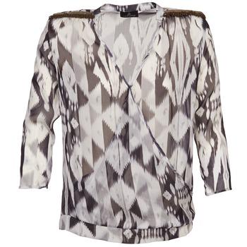 Abbigliamento Donna Top / Blusa One Step CREPUSCULE Grigio / Bianco