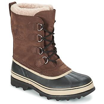 Schuhe Herren Schneestiefel Sorel CARIBOU Braun