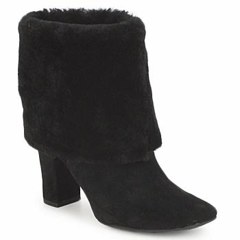 Schuhe Damen Low Boots Rockport HELENA CUFFED BOOTIE Schwarz