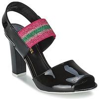 Schuhe Damen Sandalen / Sandaletten Sonia Rykiel 683902 Schwarz / Rose