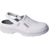 Chaussures Sabots Delta Plus Safety Blanc