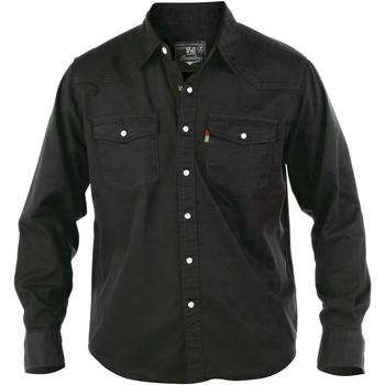 Vêtements Homme Chemises manches longues Duke Western Noir