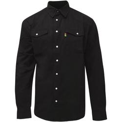 Vêtements Homme Chemises manches longues Duke  Noir