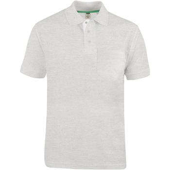 Vêtements Homme Polos manches courtes Duke D555 Gris