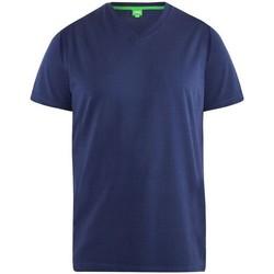 Vêtements Homme T-shirts manches courtes Duke D555 Bleu marine