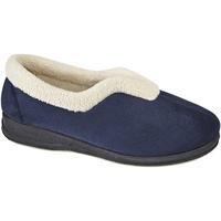 Chaussures Femme Chaussons Sleepers Olivia Bleu marine