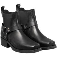 Chaussures Homme Bottes Woodland Gusset Noir