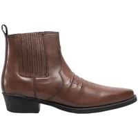 Chaussures Homme Bottes Woodland Gusset Marron foncé