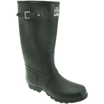 Chaussures Homme Bottes de pluie Woodland Wide Fit Vert