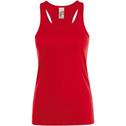 Vêtements Femme Débardeurs / T-shirts sans manche Sols Justin Rouge