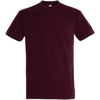 Vêtements Homme T-shirts manches courtes Sols Imperial Bordeaux