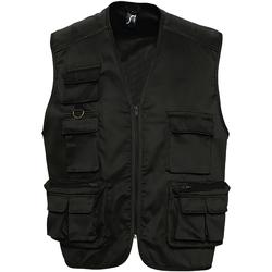 Vêtements Homme Gilets / Cardigans Sols 43630 Noir