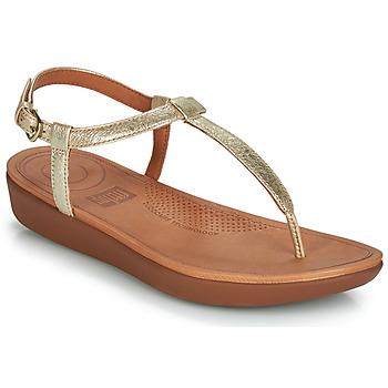 Schuhe Damen Sandalen / Sandaletten FitFlop TIA Gold