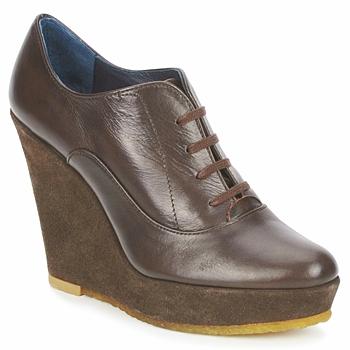 Schuhe Damen Ankle Boots Castaner FUSTA Braun,
