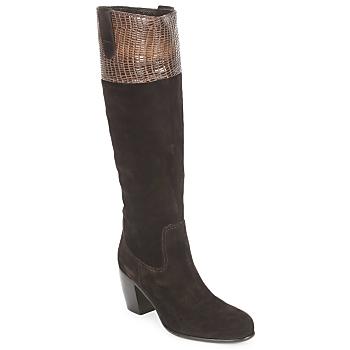 Schuhe Damen Klassische Stiefel C.Doux ENZO BOT Braun