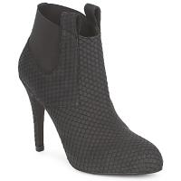 Schuhe Damen Low Boots Frida CASTRIL Schwarz